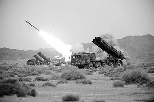 资料图:解放军远程火箭炮实弹射击