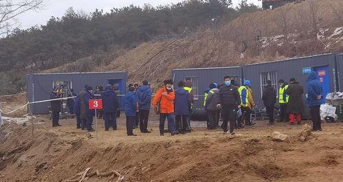 山东栖霞金矿事故一名伤势危重矿工已无生命迹象