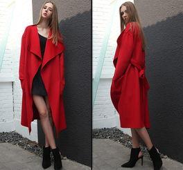 大衣面料 双面羊绒布料双面呢料双面羊绒加厚秋冬大衣面料黑色藏青 阿里巴巴