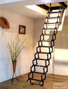 家用阁楼楼梯室内伸缩楼梯升降楼梯折叠楼梯产品图片,家用阁楼楼梯...