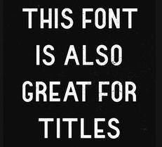 31个时尚创意古怪特别的英文字体