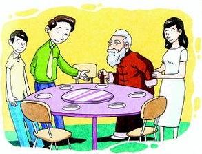 饭桌上的礼仪规矩付钱
