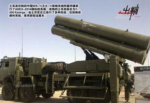 土耳其仿制ws-1火箭炮亮相外国防展.