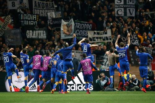欧冠尤文总分10淘汰摩纳哥12年首入四强