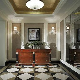 美式风格过道铁艺楼梯扶手美式风格储物柜效果图