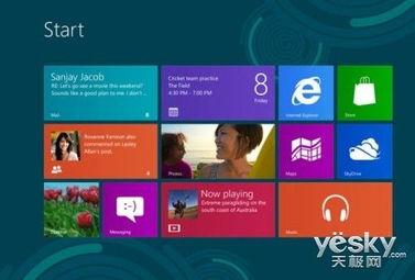 Windows 8界面-UI专家吐槽 对老用户来说Win8界面十分糟糕