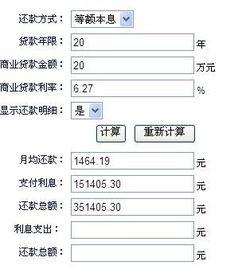 商业贷款的利率(中国农业银行商业贷款)