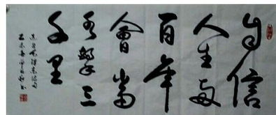 北京书法家作品欣赏(北京书法家郭贞安的书)