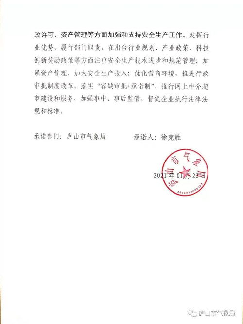 青岛市外专局单位责任承诺书