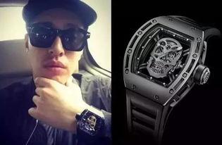 1300万的手表,贵瞎眼的各大潮牌,简直壕无人性