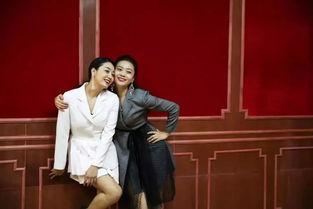 麻花双娇:冯秦川、贾金金(从左至右)