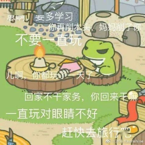 自从养了这只蛙