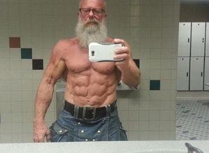 真人版龟仙人62岁大爷晒劲爆肌肉