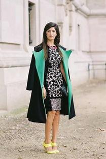 意大利时尚博主 Valentina Siragusa的混搭艺术
