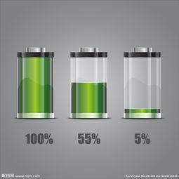 透明电池图片