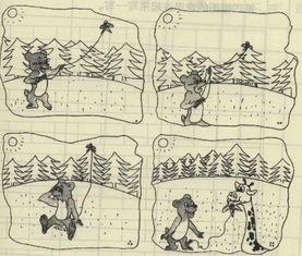 小学一年级看图写话训练 9 一年级