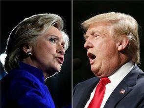 特朗普vs.希拉里