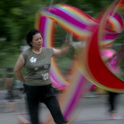 得分中国大妈广场舞