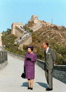 英国女王和丈夫菲利普亲王