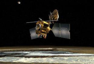火星勘测轨道器发现了火星存在流动液态水的最确凿证据.