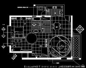 一套室内CAD平面图