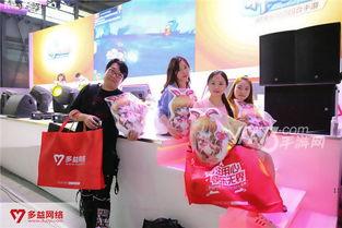 全是爱豆小姐姐 三大偶像团占领多益CJ展台