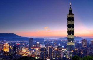 台湾开发自由行的城市