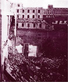 大片房屋被毁 南京各政府部门都遭洗劫,蒋介石官邸也难逃劫难