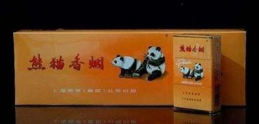熊猫烟(上海熊猫香烟价格表)