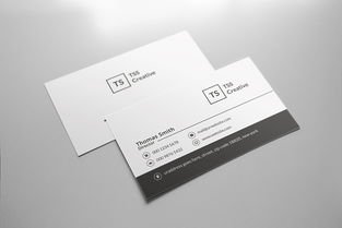 黑白商务公司个人名片设计模板下载图片素材 高清其他 38.18MB ...