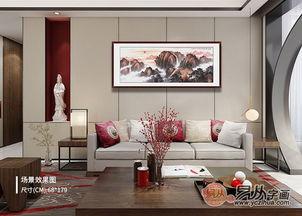 客厅沙发后面挂什么画好 客厅挂画风水禁忌(客厅沙发后面墙上挂什么