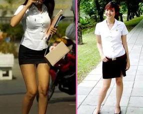 中国哪些大学学校校服是超短裙 大学教育