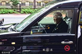 日本出租车司机很多是老人.