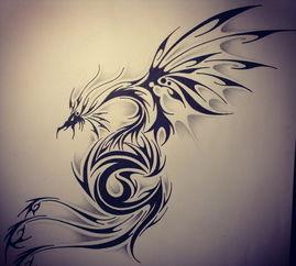 图腾纹身手稿,图腾纹身图案,图腾纹身图片 第9页