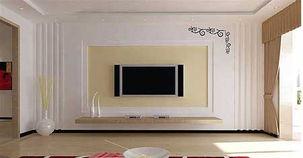 电视墙怎么装修
