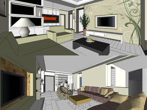 家居模型设计图下载 图片252.71MB 家装模型库 室内模型