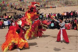 民和回族土族自治县农村各社火队欢乐庆新春