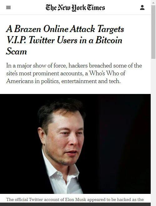 多个名人推特被黑特朗普安全当地时间15日,从前副总统拜登到现任大公司负责人,在推特上人气颇高的多个著名账号均遭到黑客攻击,发布了募集比特币捐款的推文.