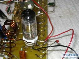 直流供电电子管接收FM的超再生实验成功了
