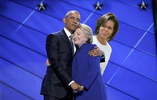 奥巴马为希拉里站台攻击特朗普
