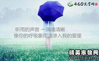 关于要下雨的的句子