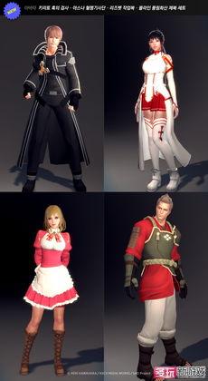 洛奇英雄传 与知名动画合作 增刀剑神域装扮