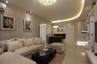 现代家装交换空间客厅效果图