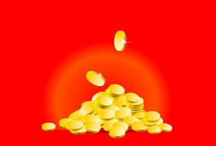 金币掉落flash矢量素材下载 素材下载城