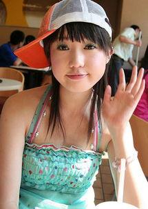 新秀张筱雨 摩托车上的魅力女孩