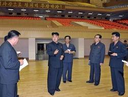 金正恩视察朝鲜休闲娱乐设施