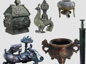 中国风商代青铜器素材集合