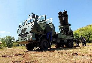 中国售泰国的ws-1火箭炮