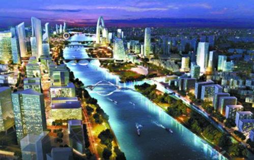 通州运河核心区规划图/来源于网络