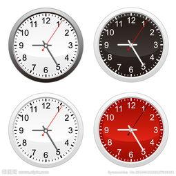 圆型 时钟图片